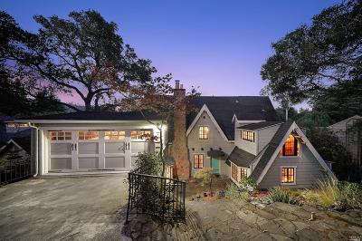 Mill Valley Single Family Home For Sale: 219 Molino Avenue
