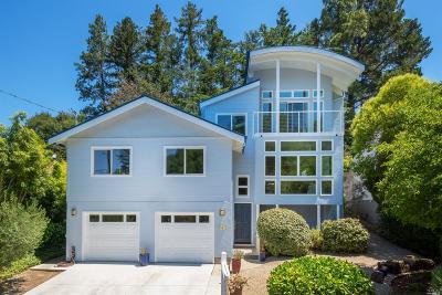 San Anselmo Single Family Home For Sale: 7 Monterey Avenue