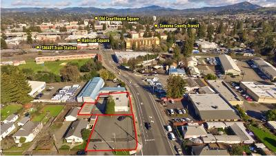 Sonoma County Commercial For Sale: 13 West 3rd Street