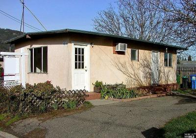 Ukiah Multi Family 2-4 For Sale: 164 Washington Avenue