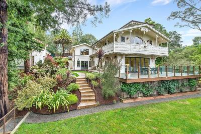 Mill Valley Single Family Home For Sale: 7 Heuters Lane