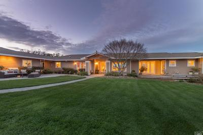 Sebastopol Single Family Home Contingent-Show: 6740 Petersen Road