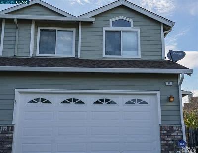 Vallejo Single Family Home For Sale: 91 Del Sur Street