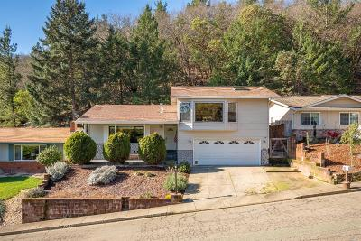 Ukiah CA Single Family Home For Sale: $539,000