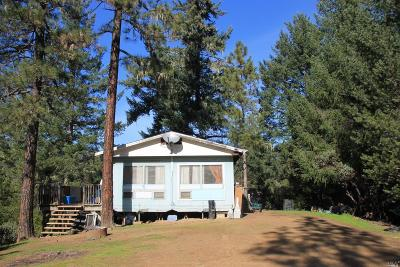 Covelo CA Single Family Home For Sale: $494,900