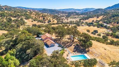 Hopland Single Family Home For Sale: 5031 Feliz Creek Road