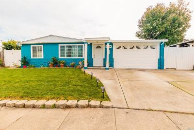 Vallejo Single Family Home Contingent-Show: 3528 Hazelwood Street