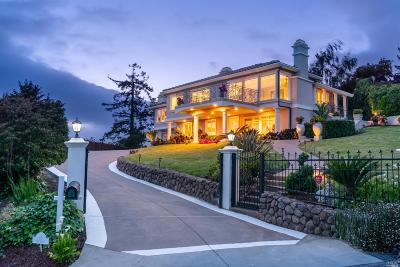 Mill Valley Single Family Home For Sale: 11 Sky Road