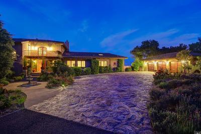 Sonoma Single Family Home For Sale: 3790 Grove Street
