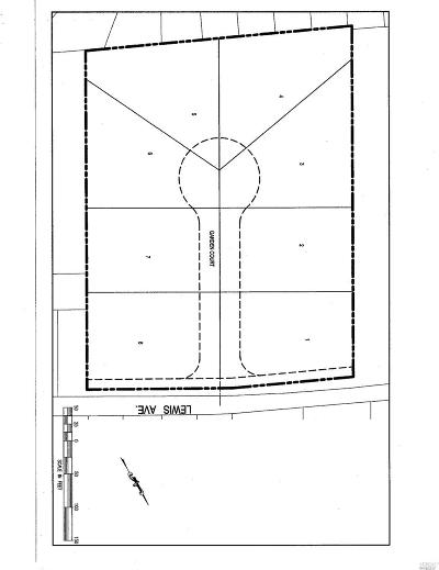 Vallejo Residential Lots & Land For Sale: 1017 Lewis Avenue