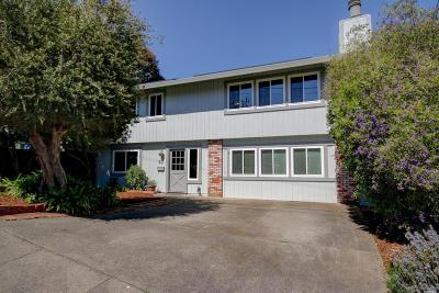 Petaluma Single Family Home For Sale: 27 Fairview Terrace