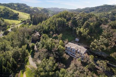 Marin County Single Family Home For Sale: 166 Crane Drive