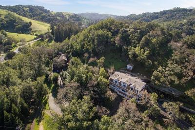 San Anselmo Single Family Home For Sale: 166 Crane Drive
