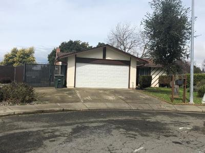 Vallejo Single Family Home For Sale: 135 Gum Court