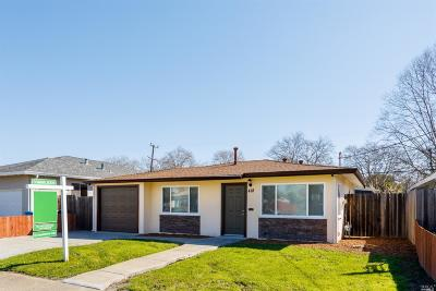 Vallejo Single Family Home For Sale: 418 Tregaskis Avenue