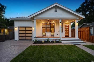 Napa County Single Family Home For Sale: 1724 Tainter Street