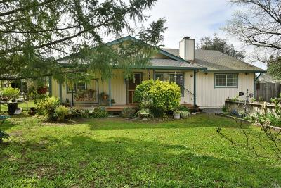 Cloverdale Single Family Home For Sale: 1245 Wilson Road