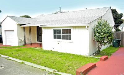 Vallejo Single Family Home For Sale: 1420 Redwood St Street
