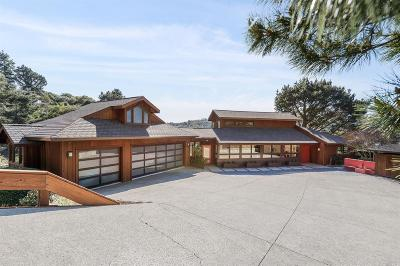Mill Valley Single Family Home For Sale: 206 Stanford Avenue