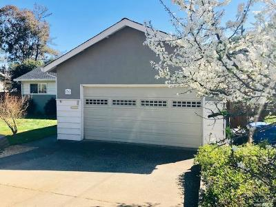 Marin County Single Family Home For Sale: 71 Trish Drive