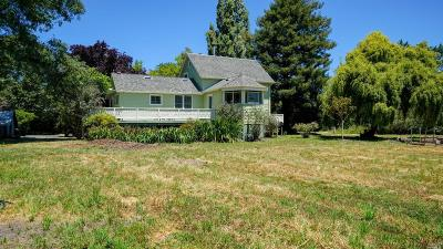Petaluma Single Family Home For Sale: 11547 College Street