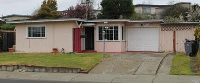Vallejo Single Family Home For Sale: 838 Fulton Avenue