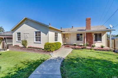 Vallejo Single Family Home For Sale: 658 Washington Street