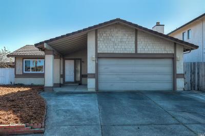 Vallejo Single Family Home For Sale: 310 Vergel Terrace