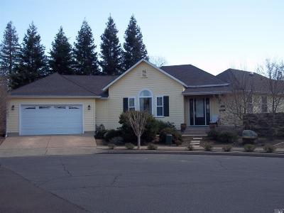 Calistoga Single Family Home For Sale: 1714 Emerald Drive