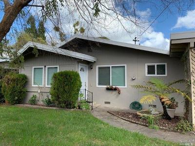 Sonoma Single Family Home For Sale: 18800 Melvin Avenue