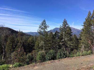 Calistoga Residential Lots & Land For Sale: 130 Petrified Forest Road