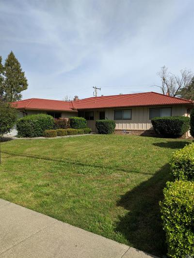 Solano County Single Family Home For Sale: 1060 West A Street