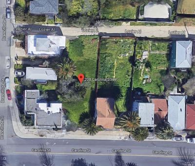 Vallejo Residential Lots & Land For Sale: 208 Carolina Street