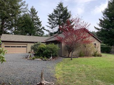 Mendocino Single Family Home For Sale: 12061 Cedarwood Drive
