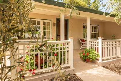 Healdsburg Single Family Home For Sale: 523 Reed Court