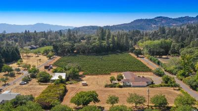 Napa County Residential Lots & Land For Sale: 645 Keyes Avenue