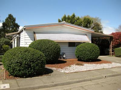 Santa Rosa Mobile Home For Sale: 88 Westgate Circle #xx