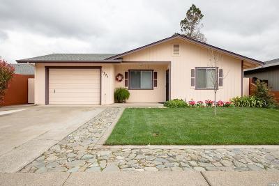 Ukiah Single Family Home For Sale: 1371 North Bush Street