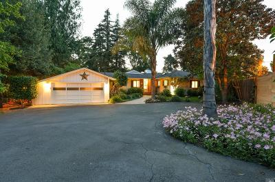 Napa County Single Family Home For Sale: 1696 Muller Drive