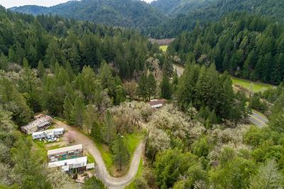 Mendocino County Multi Family 2-4 For Sale: 30661 North Highway 101 Highway