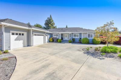 Napa County Single Family Home For Sale: 10 Reno Court