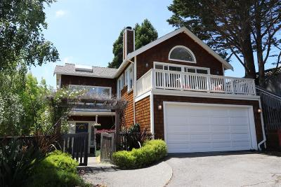 Mill Valley Single Family Home For Sale: 296 Greene Street