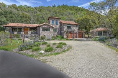 St. Helena Single Family Home For Sale: 1560 Silverado Trail