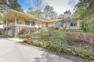 Calistoga Single Family Home Contingent-Show: 4201 St. Helena Highway