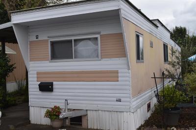 Sonoma Mobile Home For Sale: 18925 Sonoma Highway #57, 57
