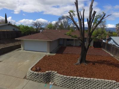 Vacaville Single Family Home For Sale: 403 Springvalley Drive