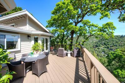 Fairfax Single Family Home For Sale: 792 Bolinas Road
