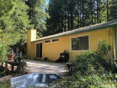 Occidental Single Family Home For Sale: 3176 Westwood Lane