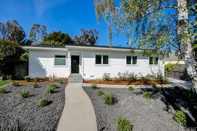 Tiburon Single Family Home For Sale: 65 Harriet Way