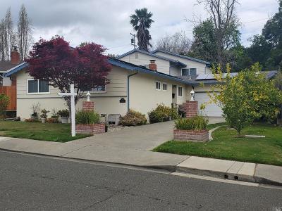 Vallejo Single Family Home For Sale: 366 De Anza Drive